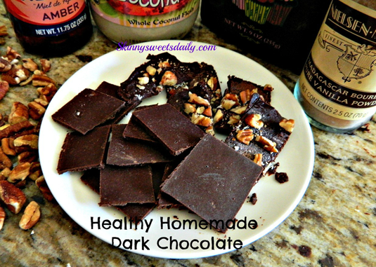 Healthy Dark Chocolate Mini Bars