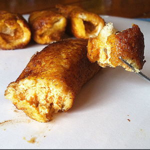 Pumpkin Ricotta French Toast Rollups