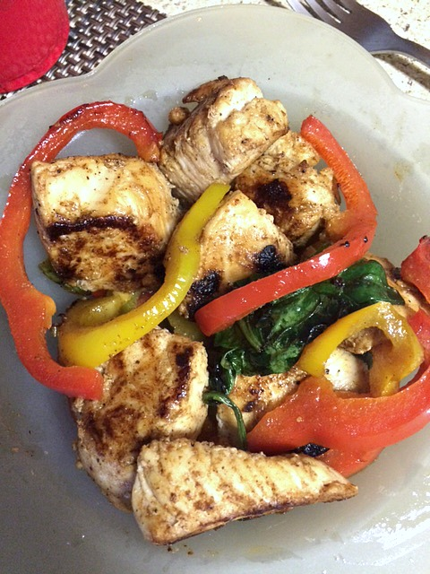 Cajun Chicken and Veggies