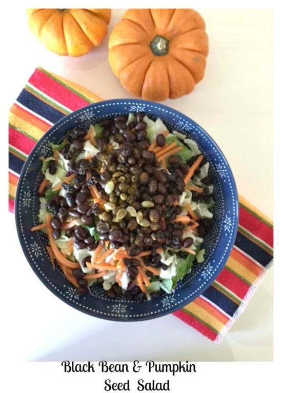 Black Bean Pumpkin Seed Salad