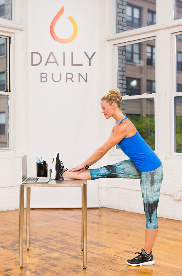 5 Standing Desk Stretches to Relieve Stress