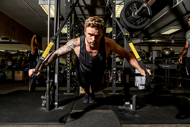 Gus Kenworthy Workout - Winter Olympics 2018