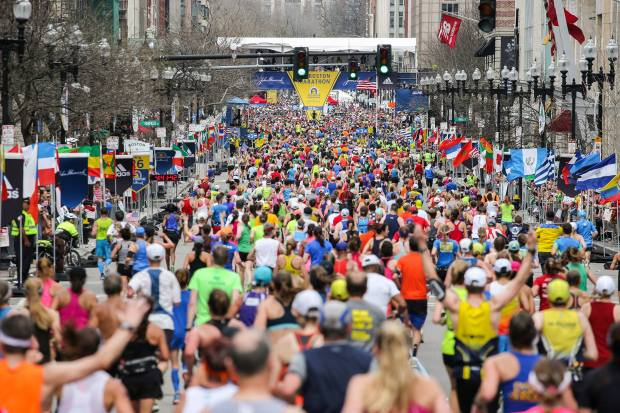 Boston Marathon - Best Spring Marathons