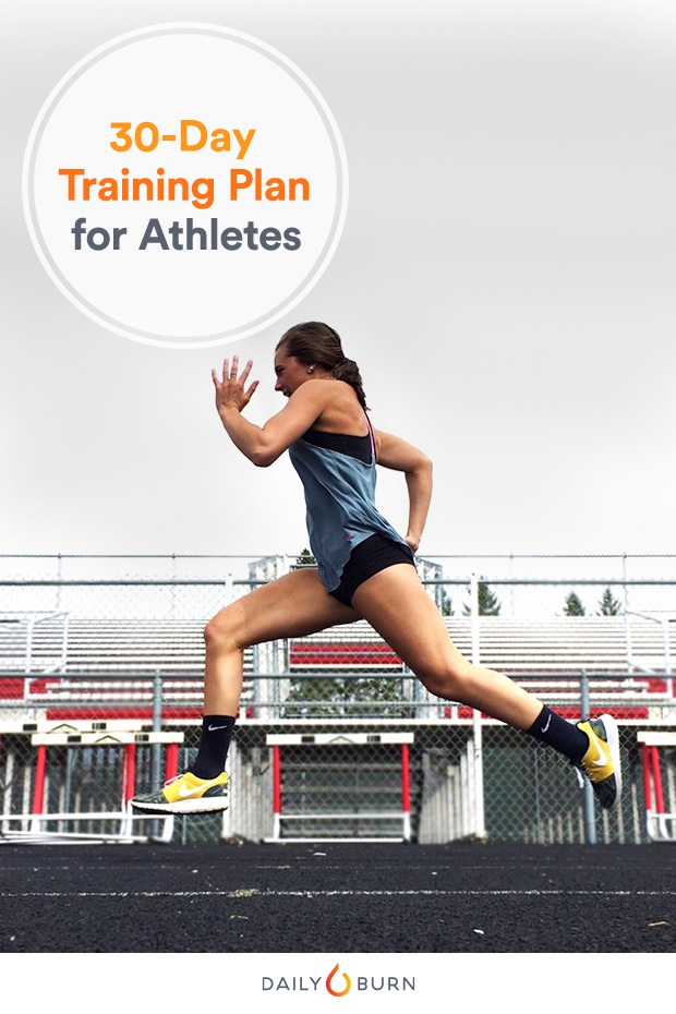 Your 30-Day Athlete Training Plan