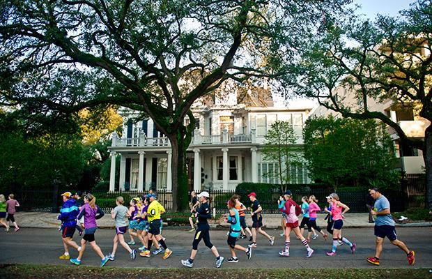 Humana Rock n Roll New Orleans Marathon - Best Spring Marathons