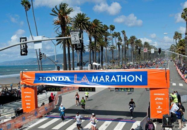 Los Angeles Marathon - Best Spring Marathons