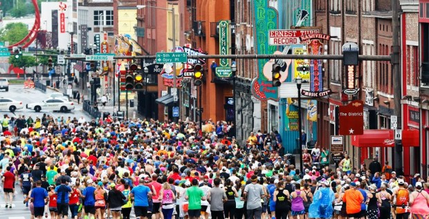 The 50 Best Half-Marathons in the U.S. - St. Jude Rock n Roll Nashville Half Marathon in Nashville, Tennessee