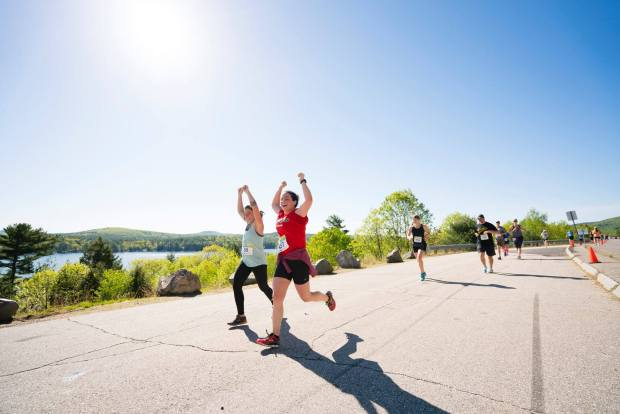 The 50 Best Half-Marathons in the U.S. - Big Lake Half Marathon in Alton, New Hampshire