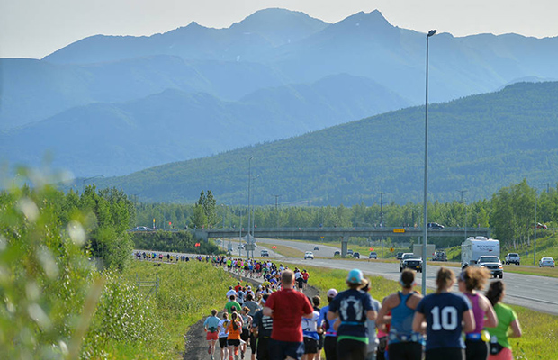 Mayors Midnight Sun Half Marathon