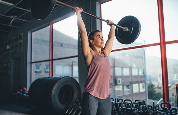 Core Workout Challenges: Add Weight Overhead