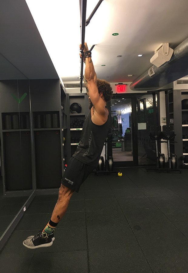 Moves to Master a Pull-Up: Hanging Hold