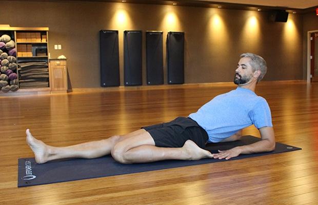 Yin Yoga for Runners: Half Saddle Pose