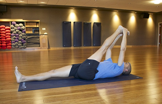 Yin Yoga for Runners: Reclined Hand-to-Big Toe Pose