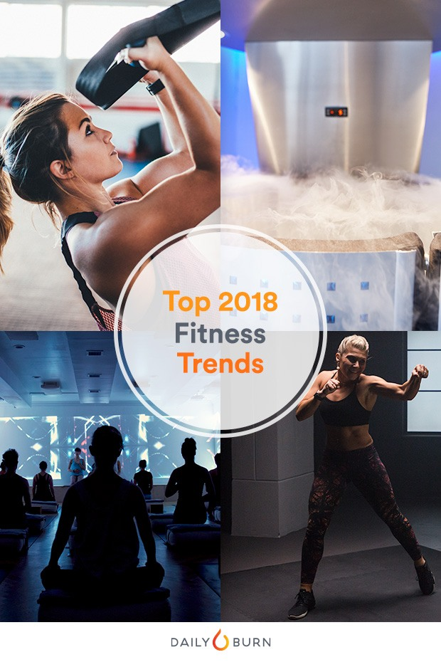 Top 8 Fitness Trends for 2018