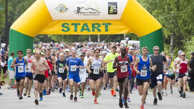 Anchorage Mayors Marathon - Best Spring Marathons