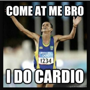 best cardio meme