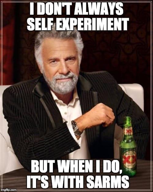 sarms experiment log