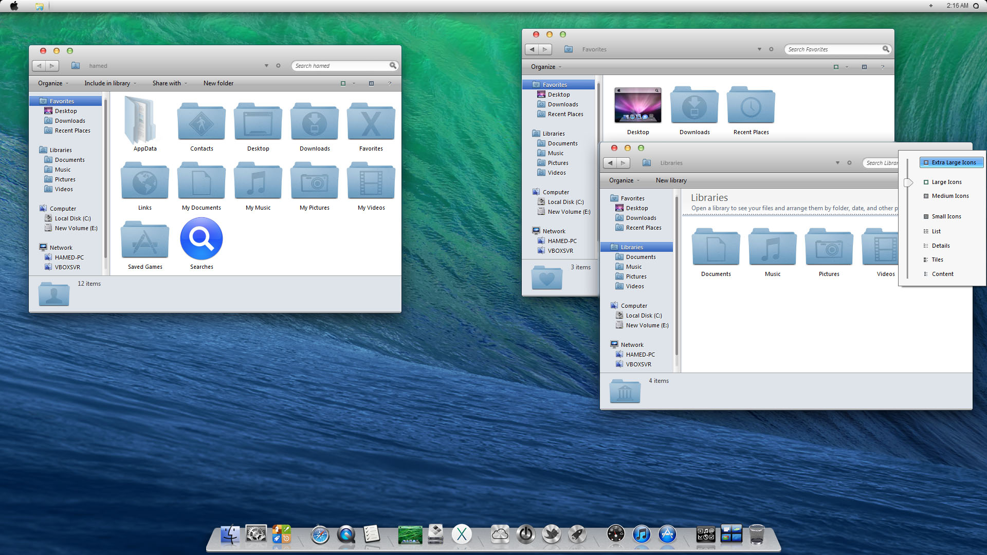 Mavericks skin pack 3. 0 for windows 8. 1.