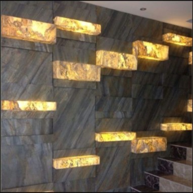 moderne Wand