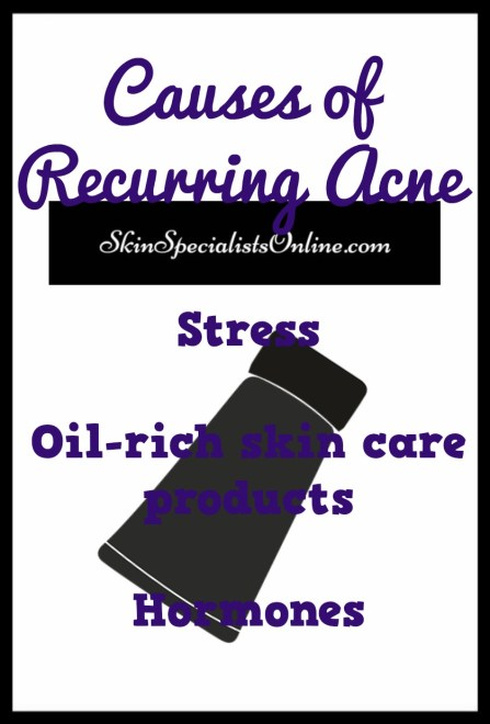 causes of recurring acne