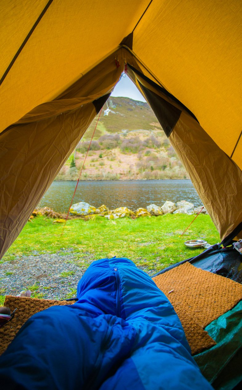 Wild Camping in Snowdonia