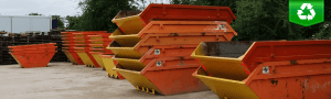 skip hire redditch-stacked-up-
