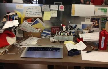 Unorganised Work Space