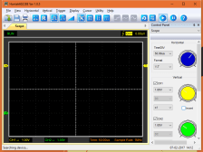 Hantek6022BE software Screen Shot