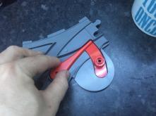 Blade in inner position