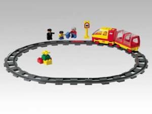 Passenger Train Starter Set with Motor