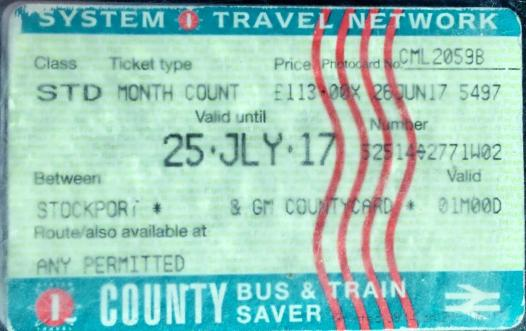 Front of County Card