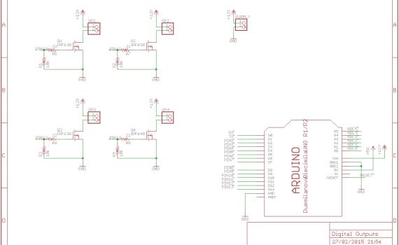 FET driver circuit schematic