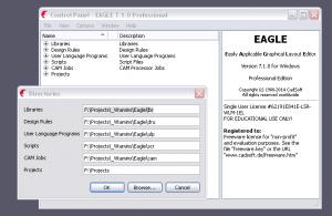 Eagle Folders on Virtual Box