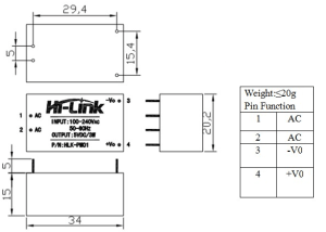 HLK-PM01 - Diagram