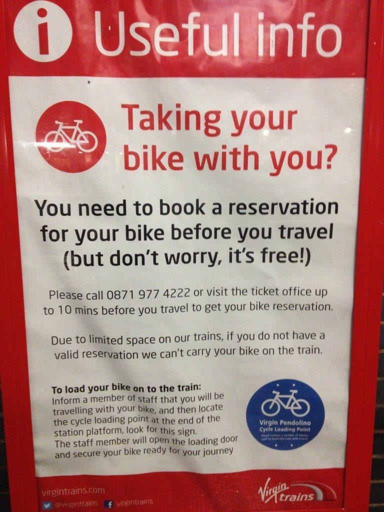 Taking your bike with you?