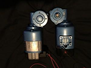 Parvalux motors