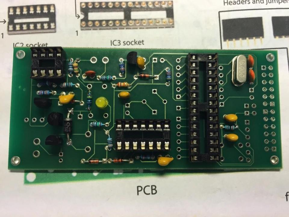 IC sockets and Crystal