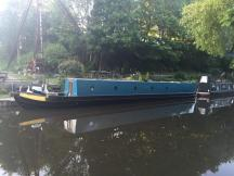 nbKawartha in her new colour from across the canal.