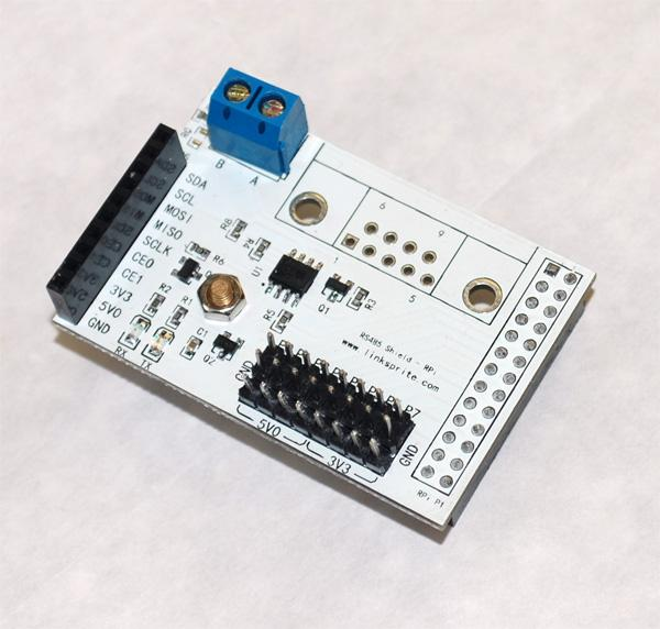 R-Pi RS485 GPIO Shield