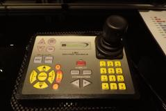 ROV pilot's control console