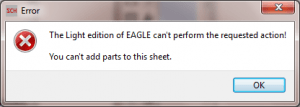 However you can not make any edits on the additional sheets in Cadsoft Eagle for Windows