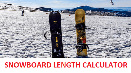 Snowboard Length Calculator