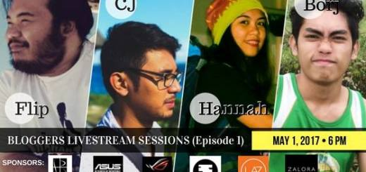 """Bloggers Livestream Sessions Ep. 1: """"Let's Talk About Blogging"""" 