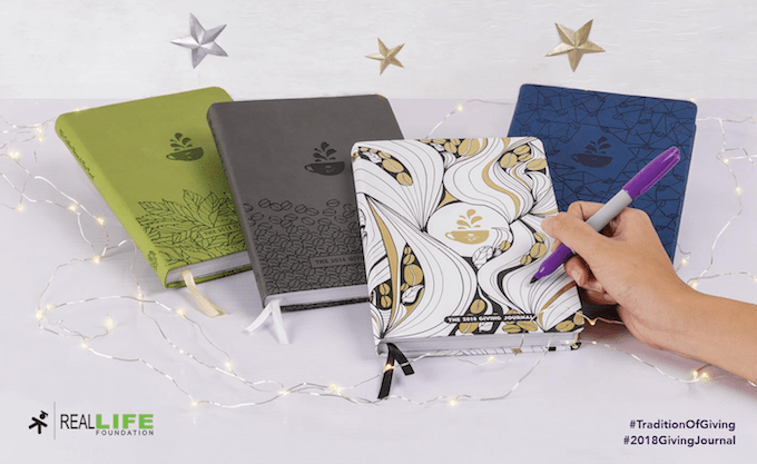 The Giving Journal 2018 by Coffee Bean & Tea Leaf (And How To Get One) | Skip The Flip