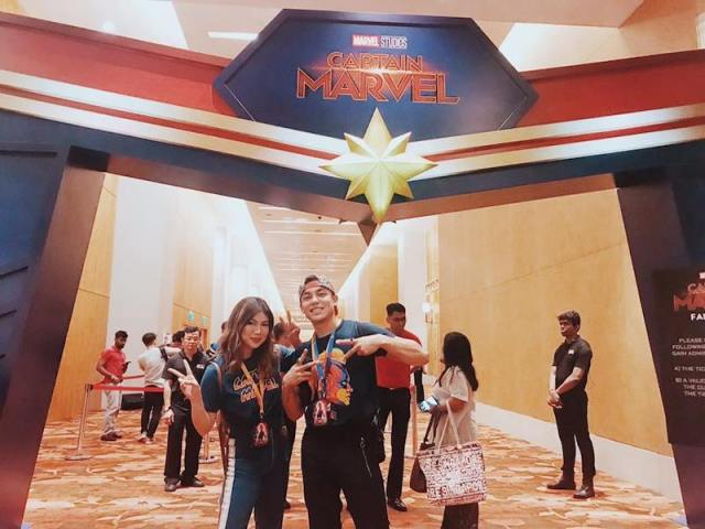 Go Higher, Further, And Faster With Marvel Studios' Captain Marvel And Globe   Skip The Flip