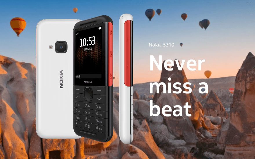 Listen Loud: Nokia Introduces Another Of Its Originals -- The Nokia 5310   Skip The Flip