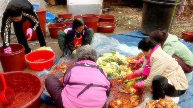 Kimjang is a process of making a large amount of Kimchi to last the entire winter season. It is one of the biggest events for Korean households before winter | Skip The Flip