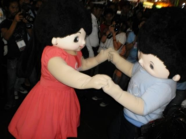 Susy And Geno were again considered adult mascots in 2013 | Skip The Flip