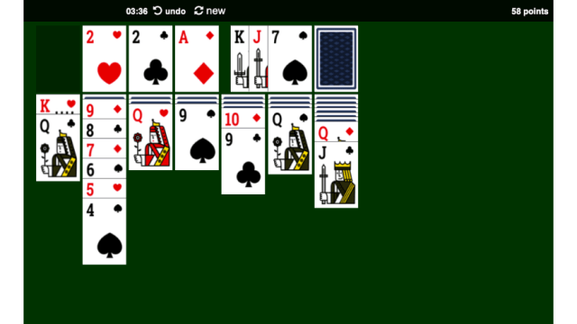 Solitaire Game   Skip The Flip