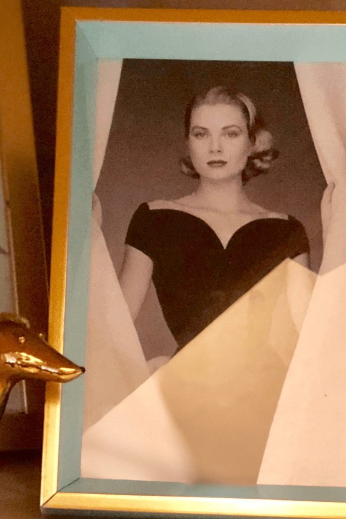 Grace Kelly is one of my favorite mentors, even though I'll never meet her.